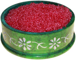 image of cherry grove spice simmering granules 200g bag dark red