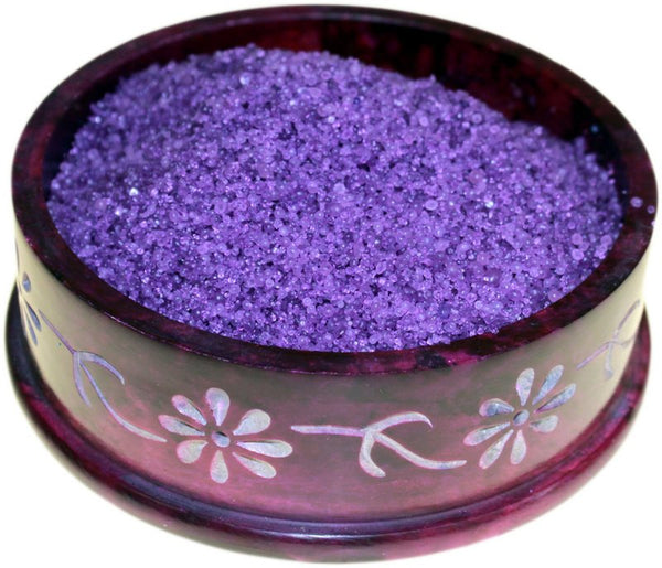 image of ylang ylang simmering granules 200g bag purple