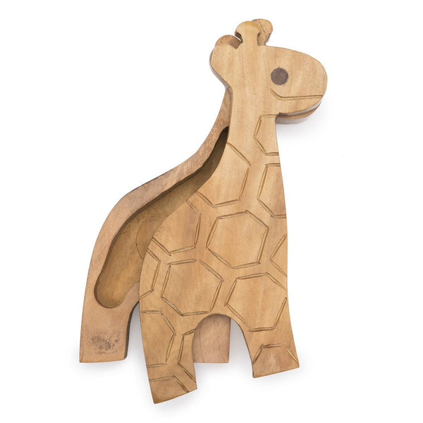 Giraffe Pivot Wood Box