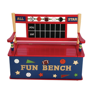 All Star Sports Bench Seat with Storage