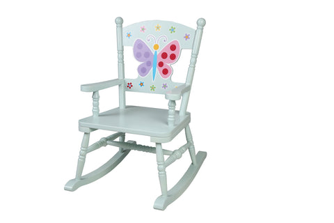 Butterfly Garden Rocking Chair