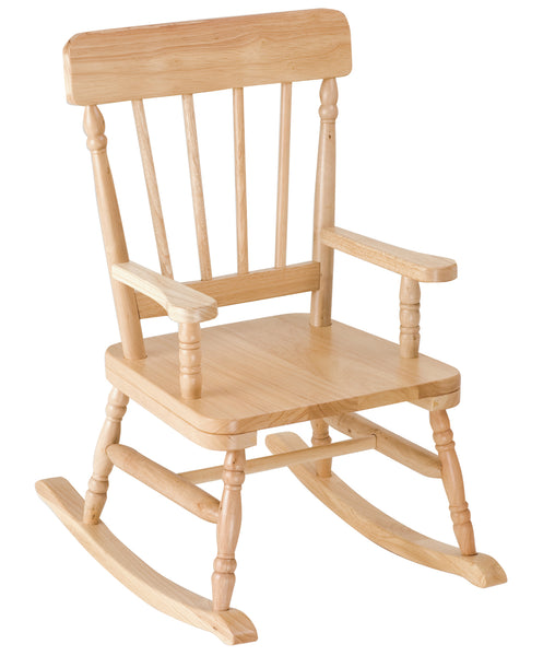 Classic Kids Oak Rocking Chair