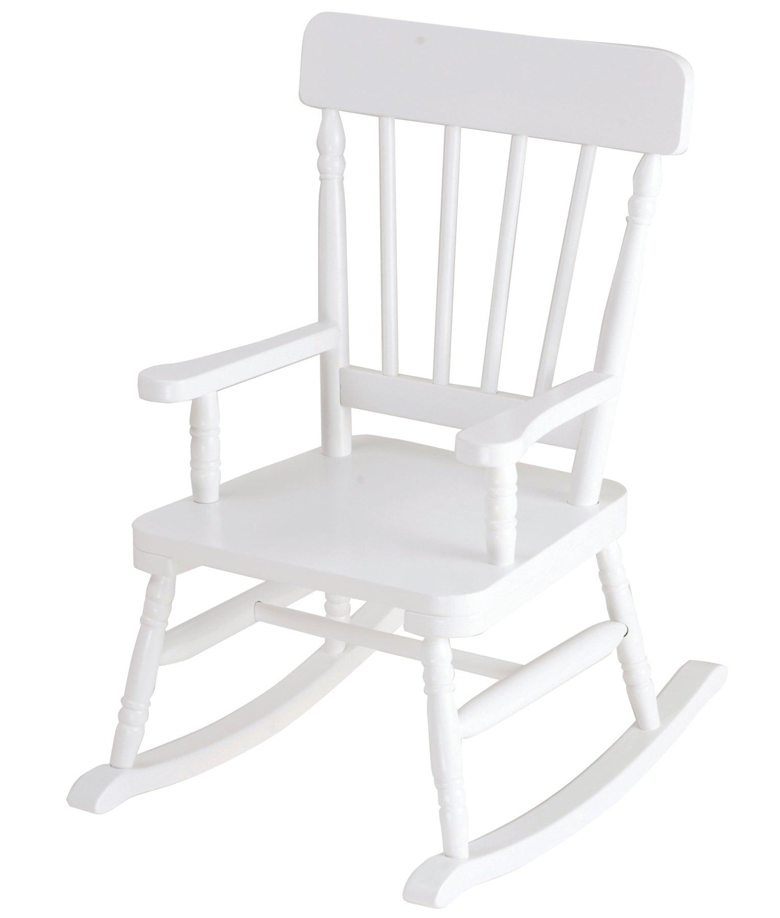 Classic Kids White Rocking Chair