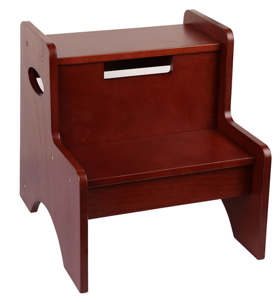 Classic Kids Cherry Two Step Stool