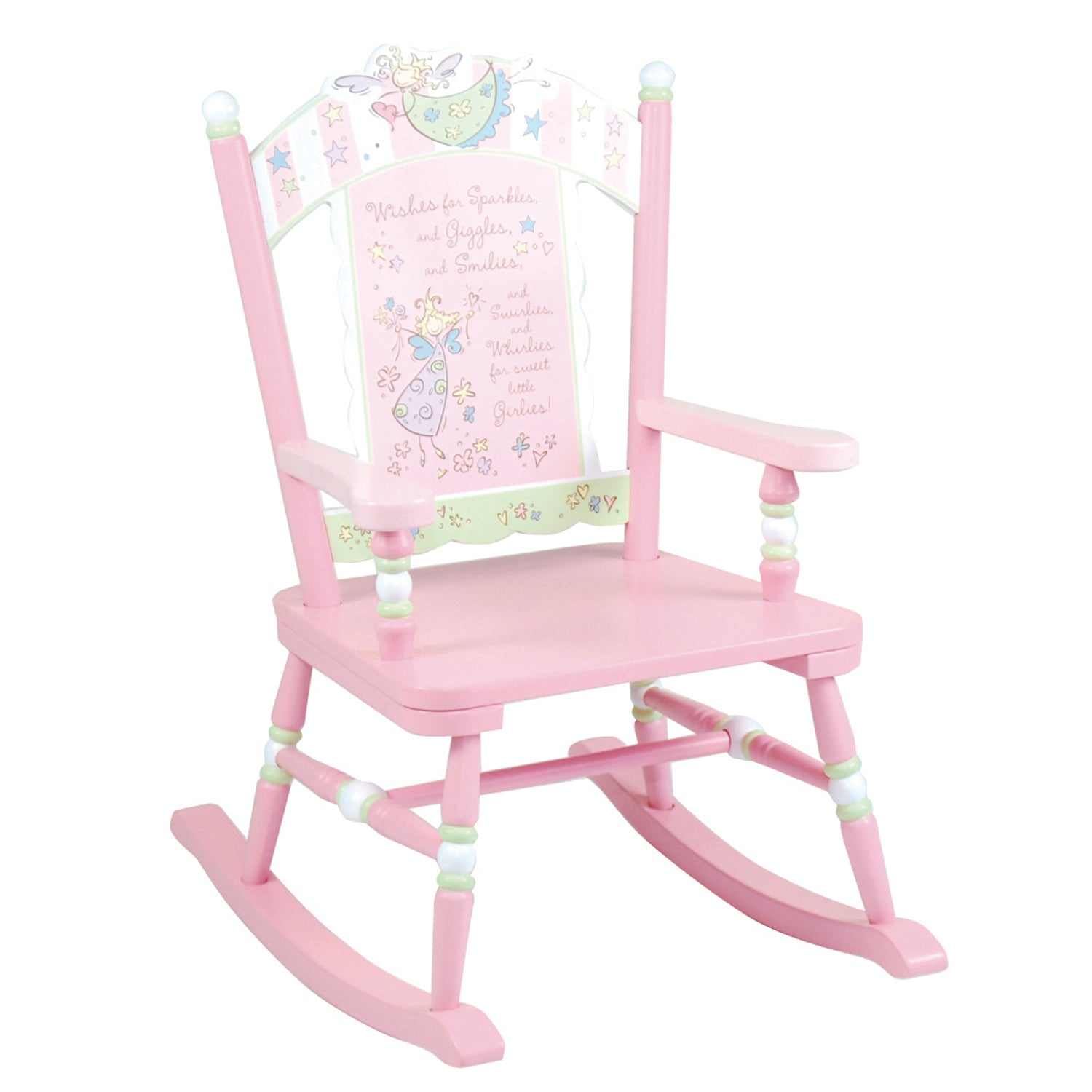 Fairy Wishes Pink Rocking Chair