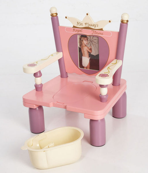 Her Majesty's Royal Throne Princess Potty Chair