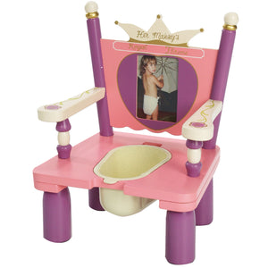 Her Majesty's Throne Princess Potty Chair