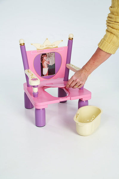 Her Majesty's Throne Royal Princess Potty Chair