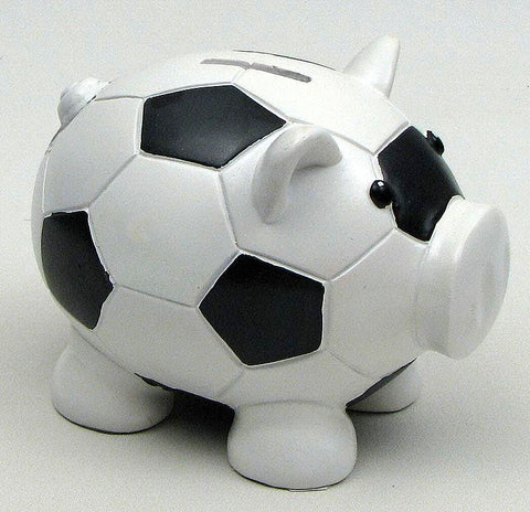 Pig Soccer Coin Bank