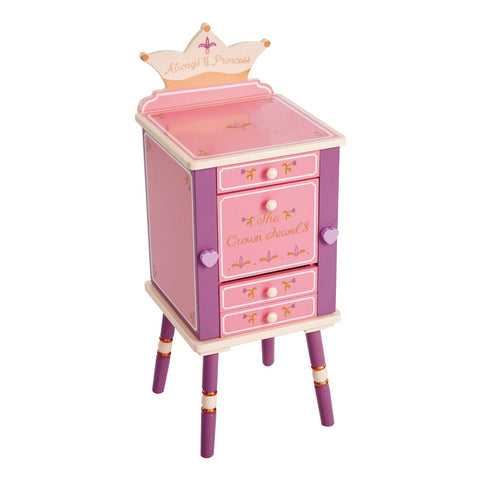 Royal Princess Jewelry Cabinet
