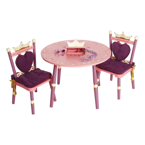 Royal Princess Table & 2 Chair Set