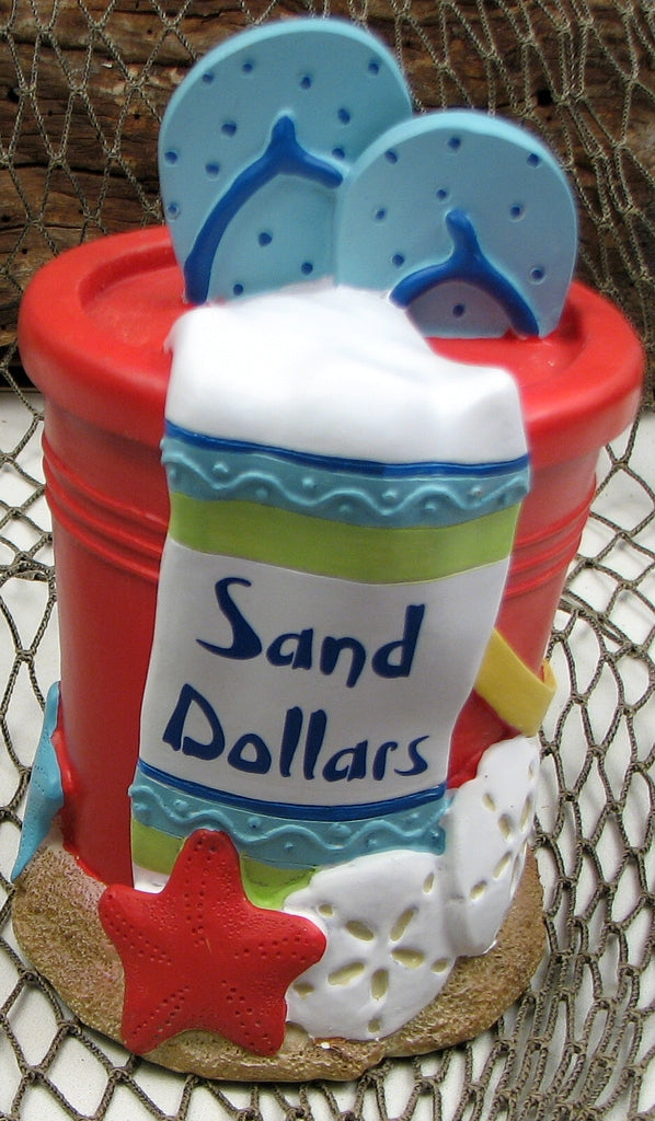 Sand Dollar Coin Bank