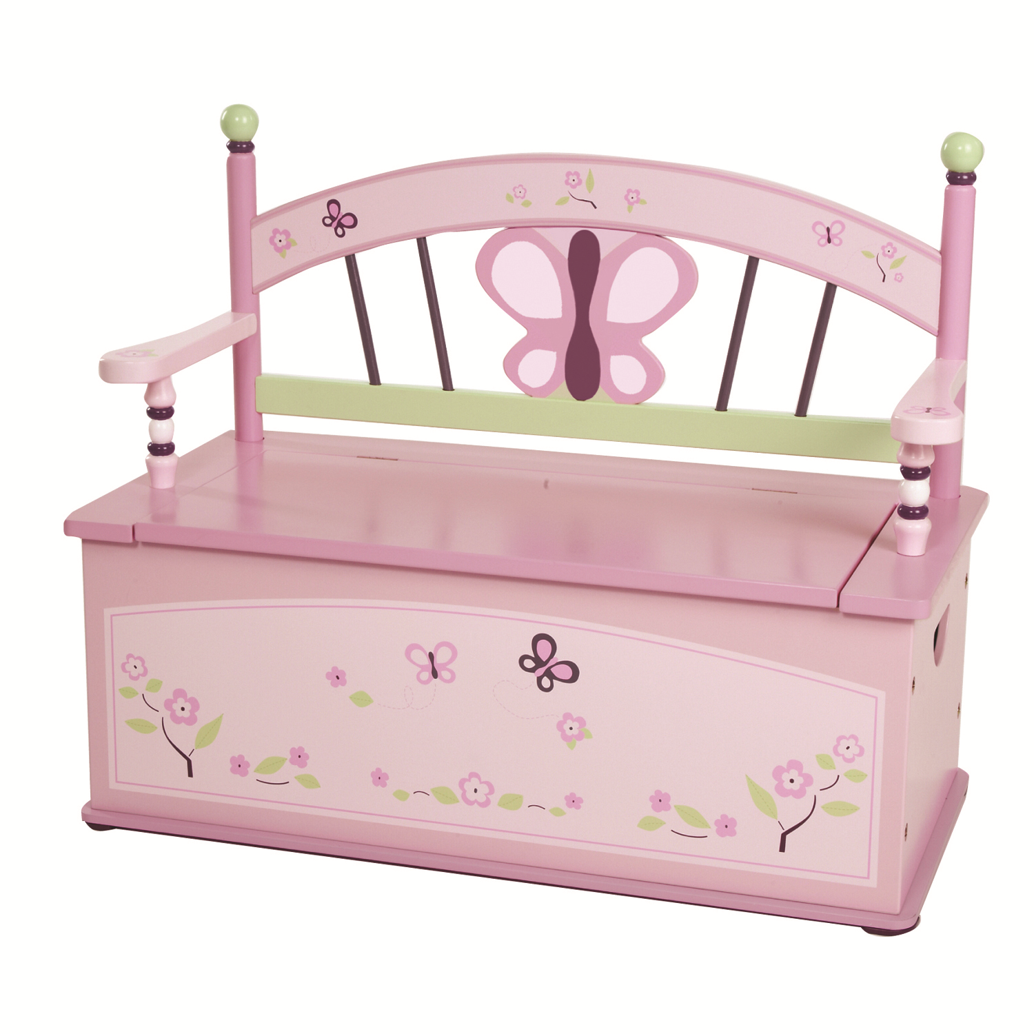 Sugar Plum Bench Seat with Storage