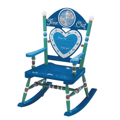 Time Out Blue Rocking Chair