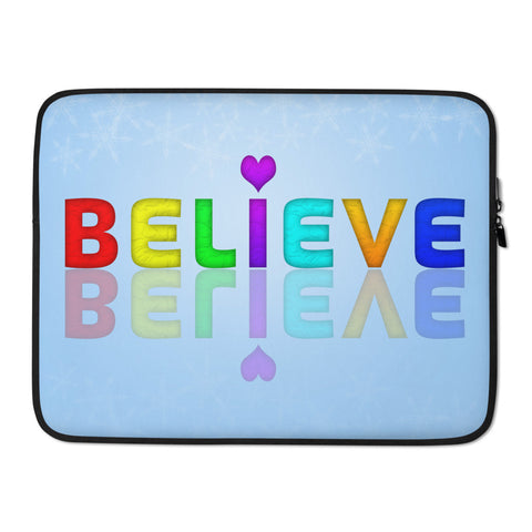 Bella Believe Laptop Sleeve