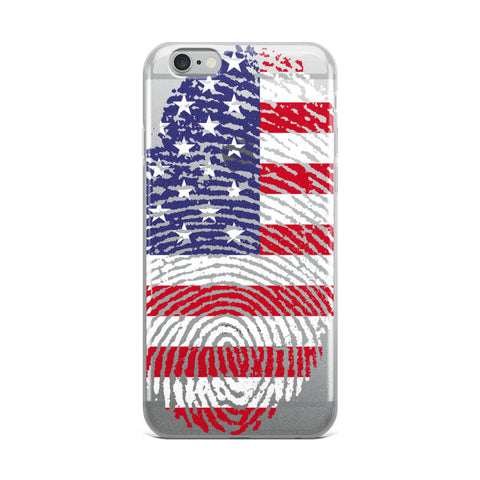 Proudly Patriotic iPhone Case