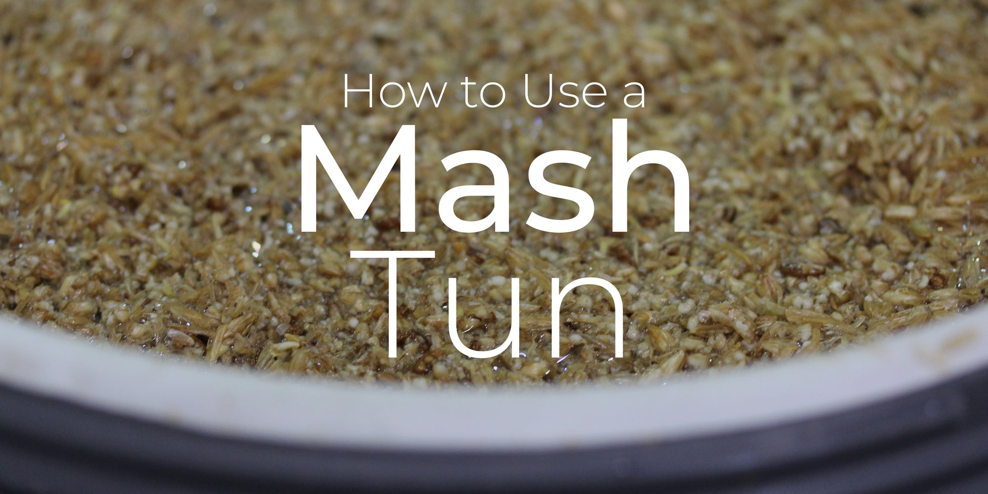 Brewing with a Mash Tun