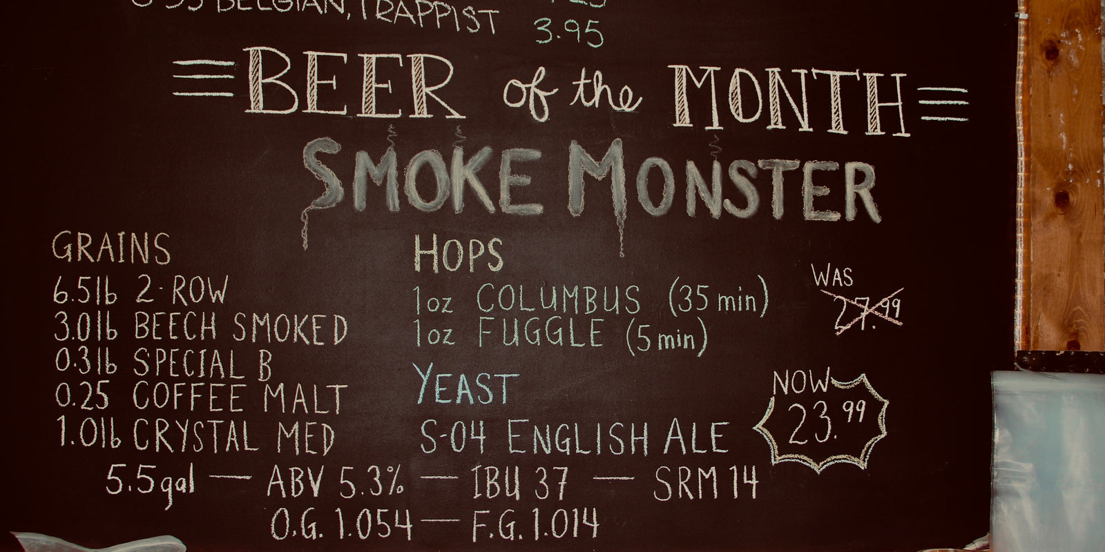 Beer of the Month Tagged