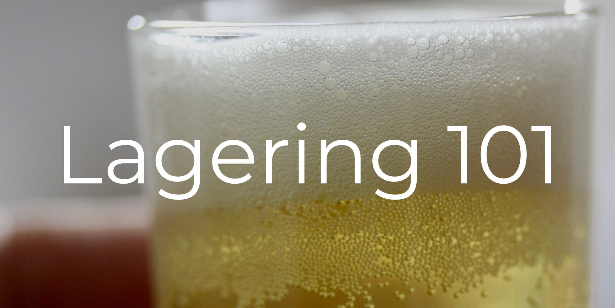 How to Make a Lager or Pilsner