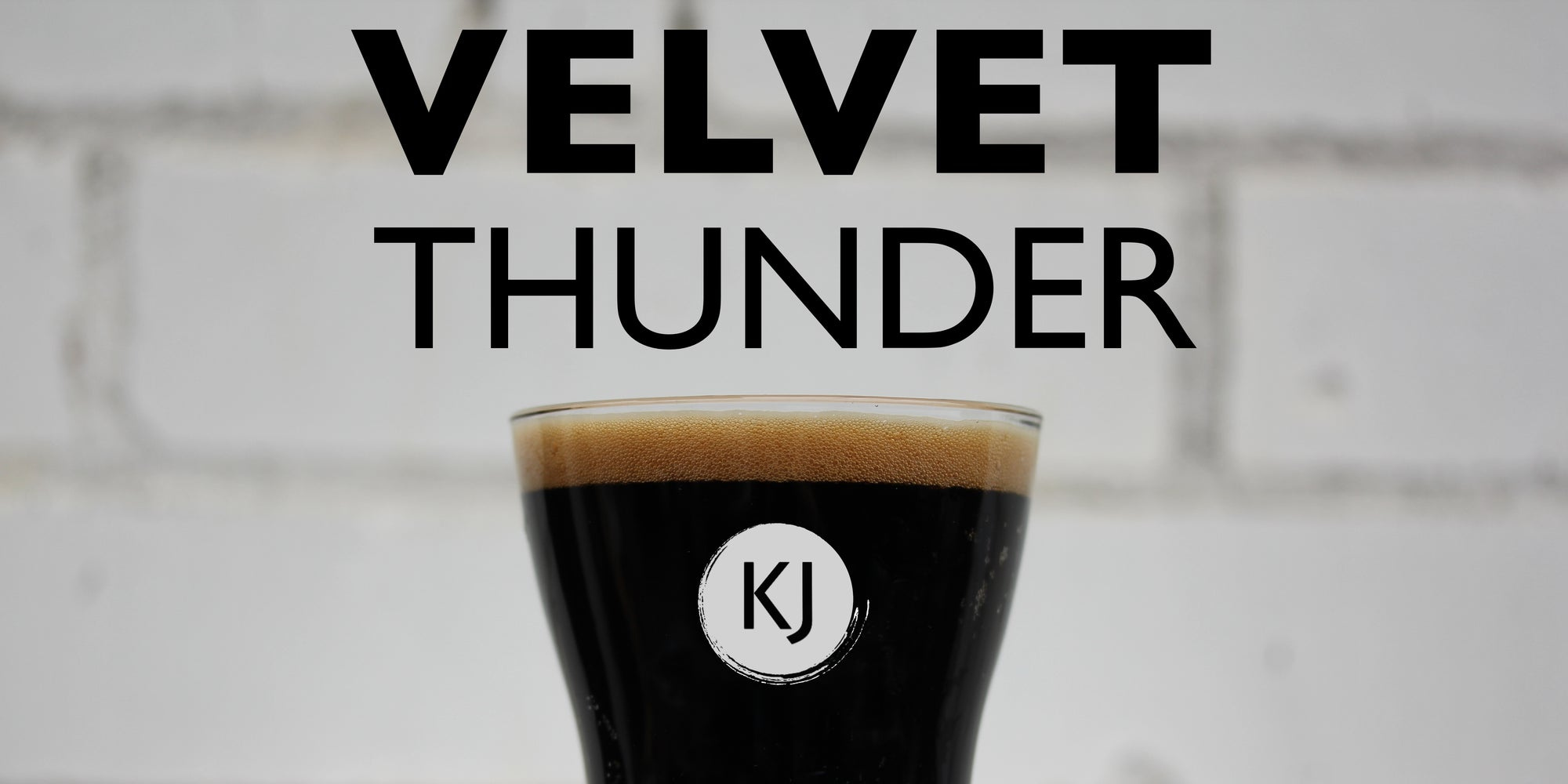 VELVET THUNDER - Imperial Stout Recipe