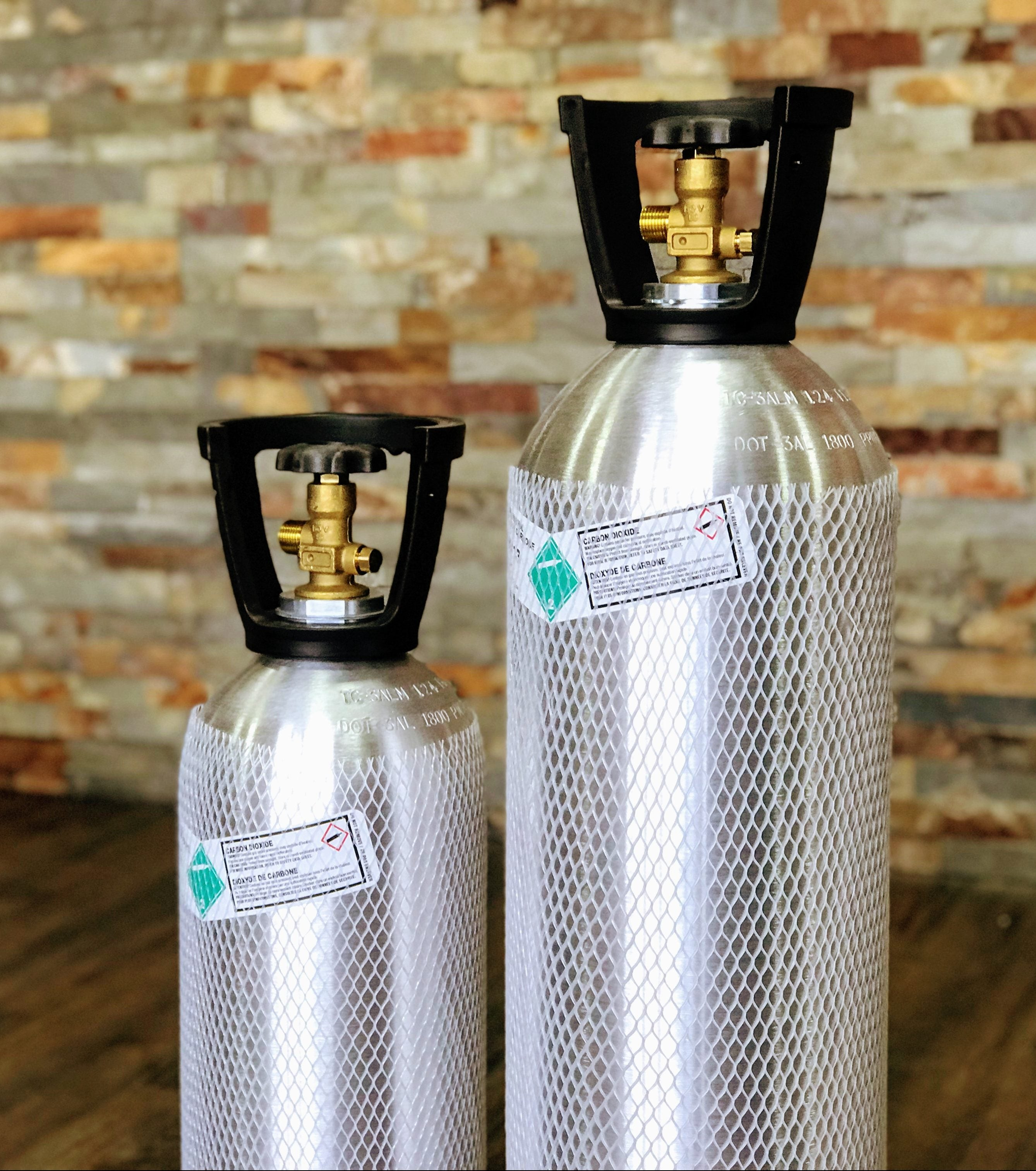 10 & 20lb CO2 Tanks for Sale at KJ Urban Winery in Guelph