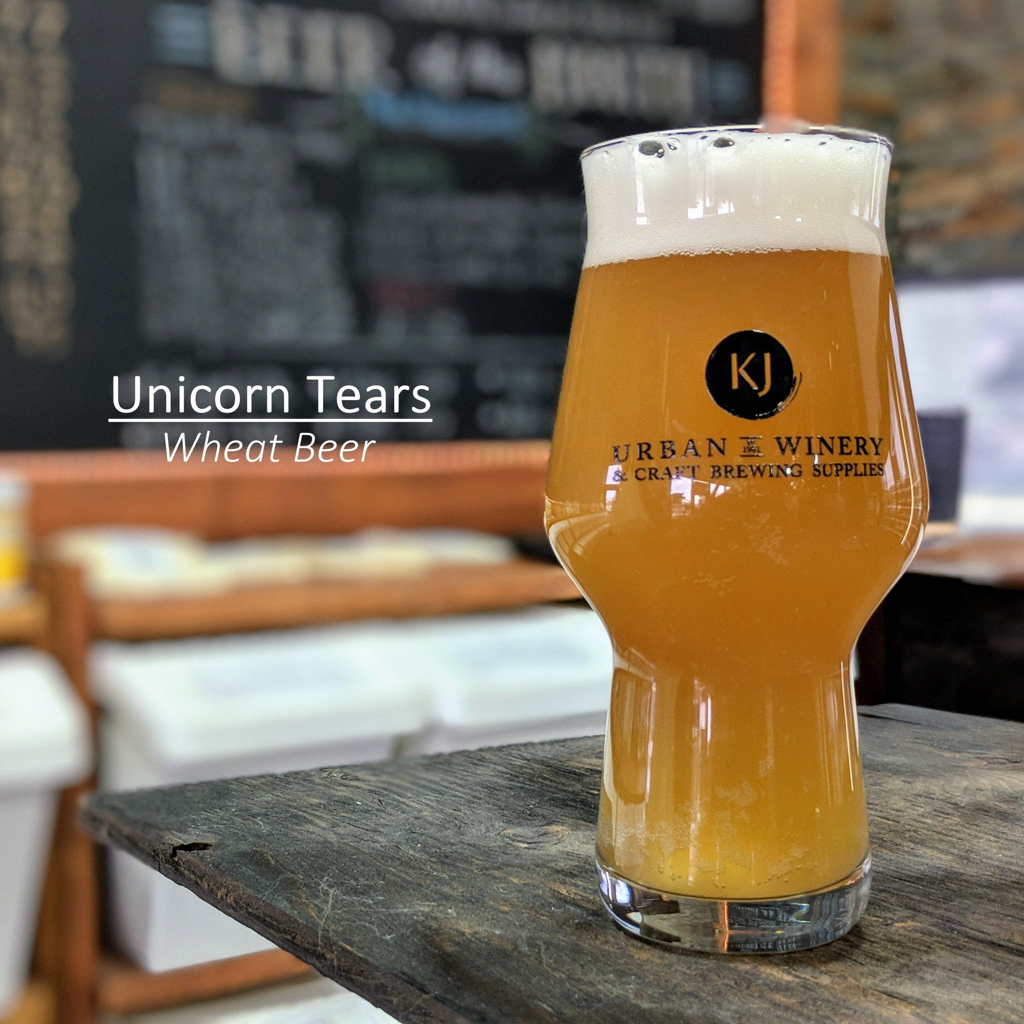 Unicorn Tears - Wheat Beer Recipe