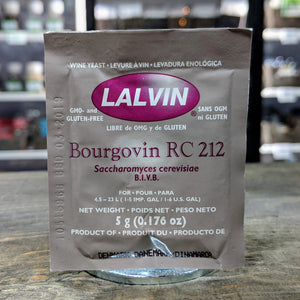 RC - 212 Bourgovin Yeast