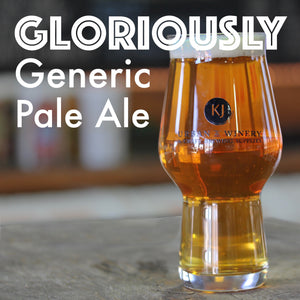 Gloriously Generic Pale Ale - Pale Ale Recipe