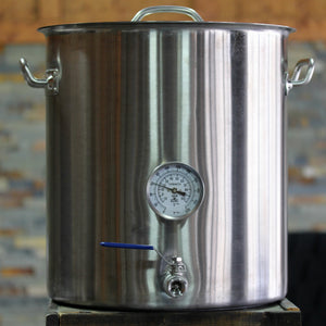 10 Gallon Tri-Clad Stainless Steel Brew Pot