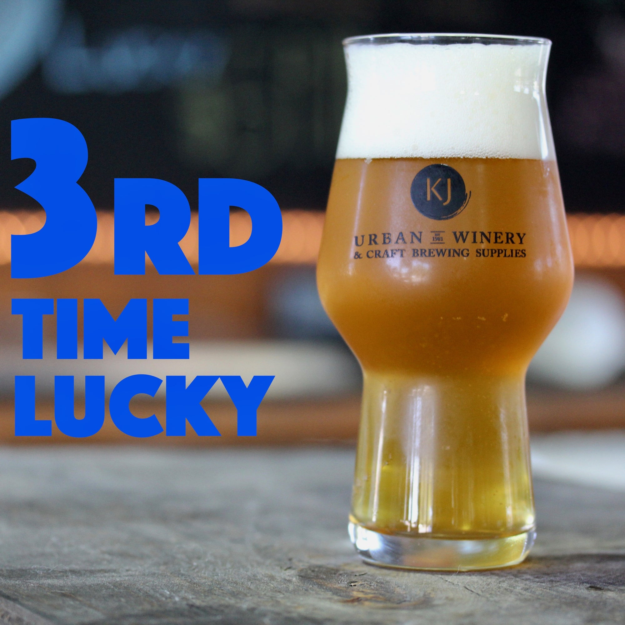 3rd Time Lucky - Double IPA Recipe