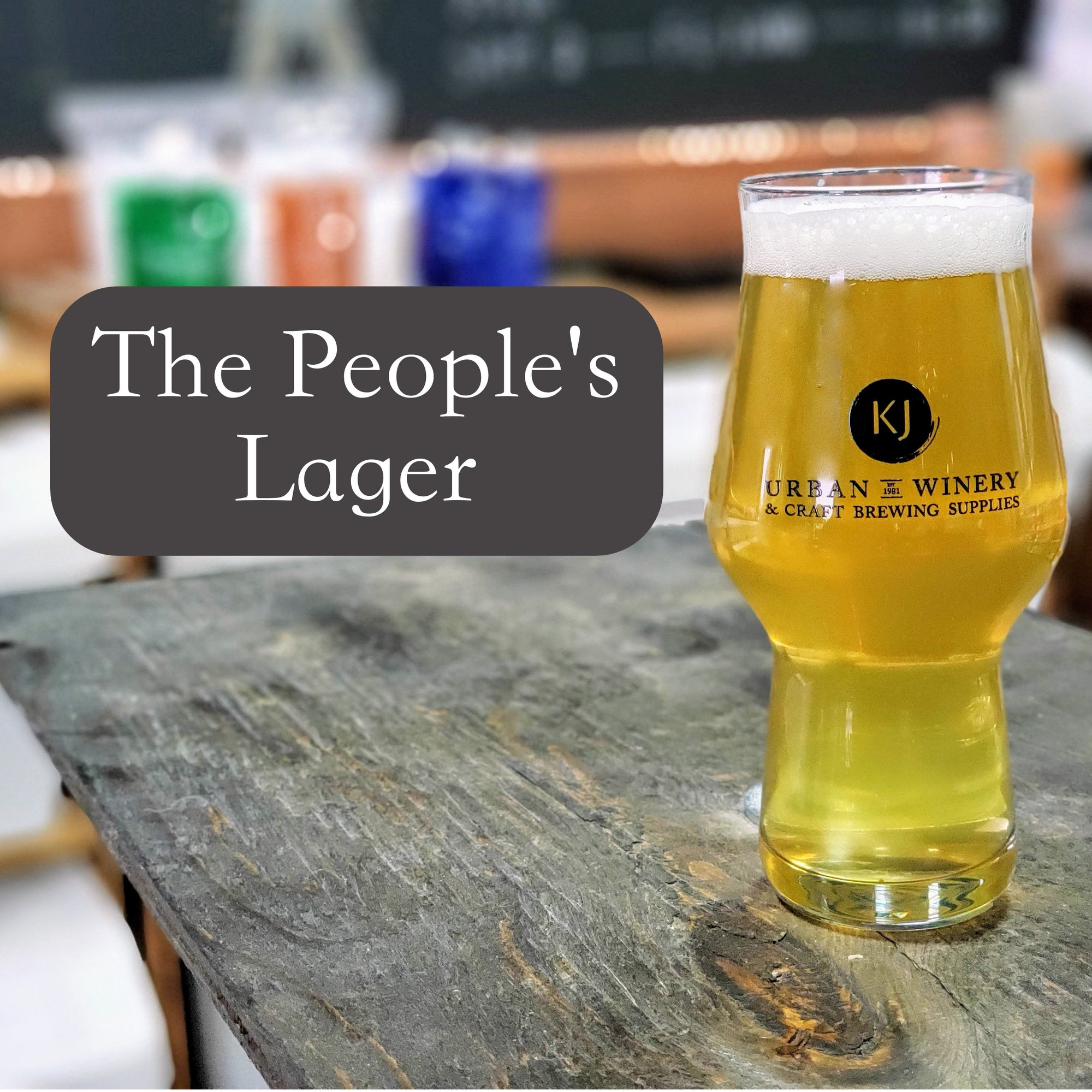 The People's Lager - Light Lager Recipe