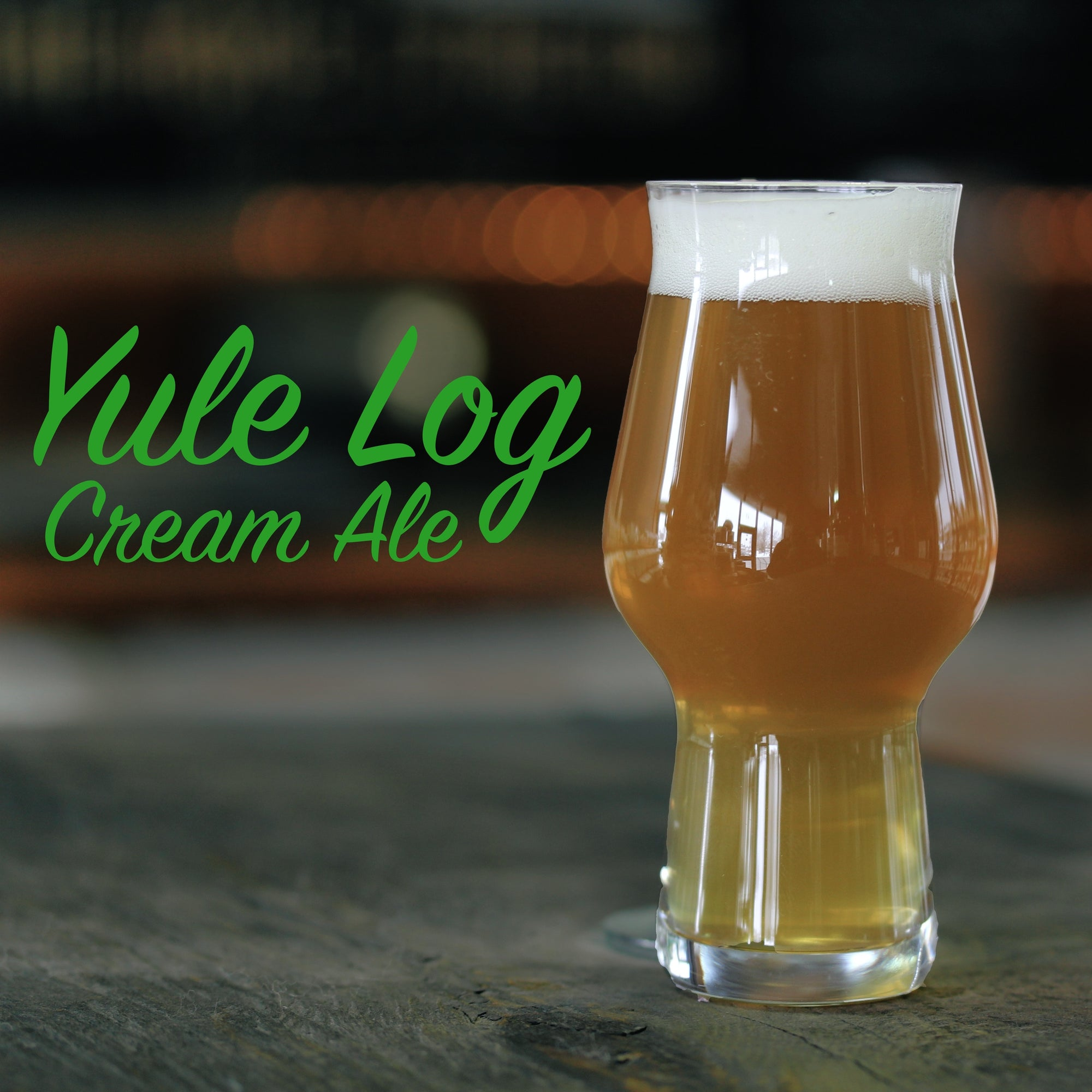 Yule Log - Cream Ale