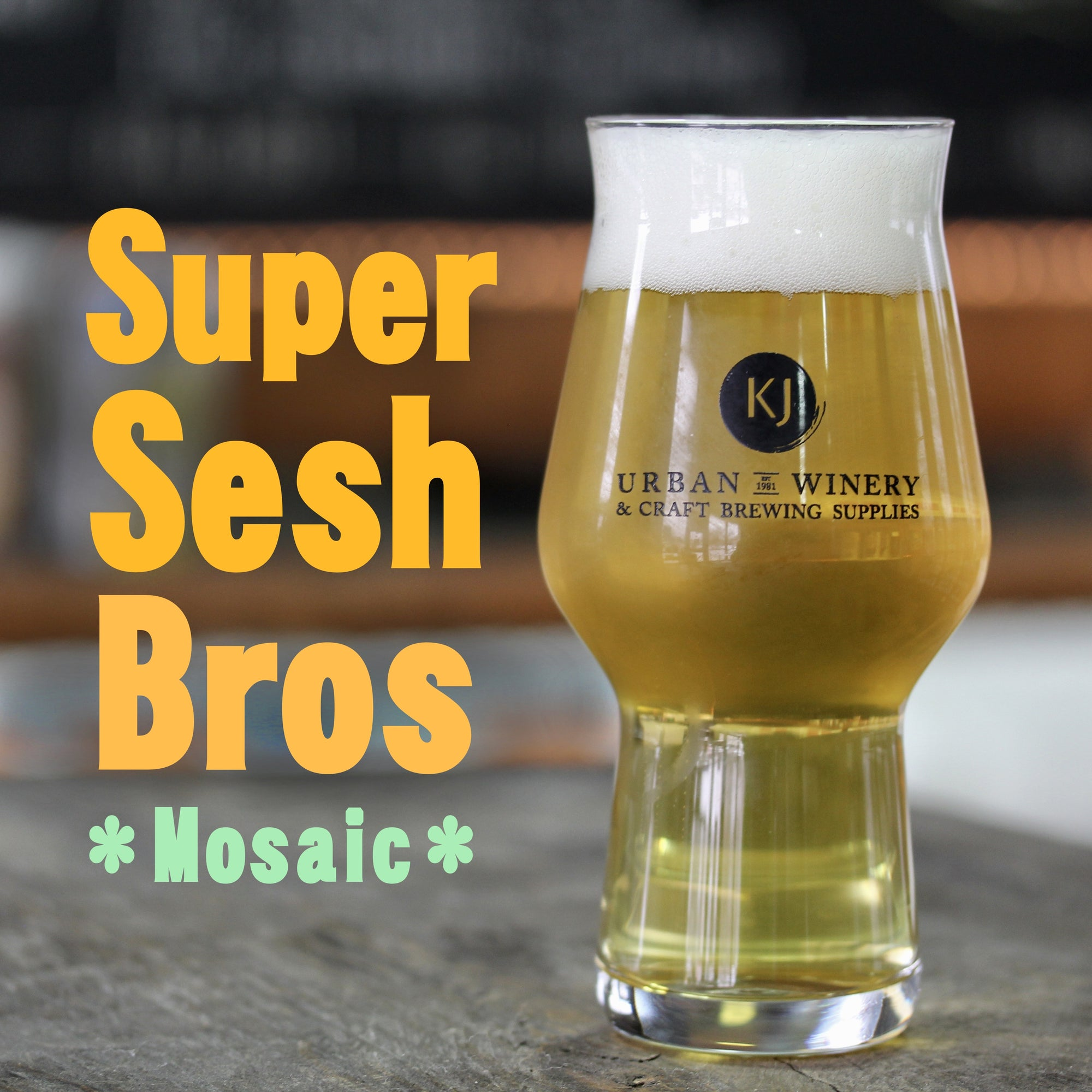 Super Sesh Bros - Mosaic