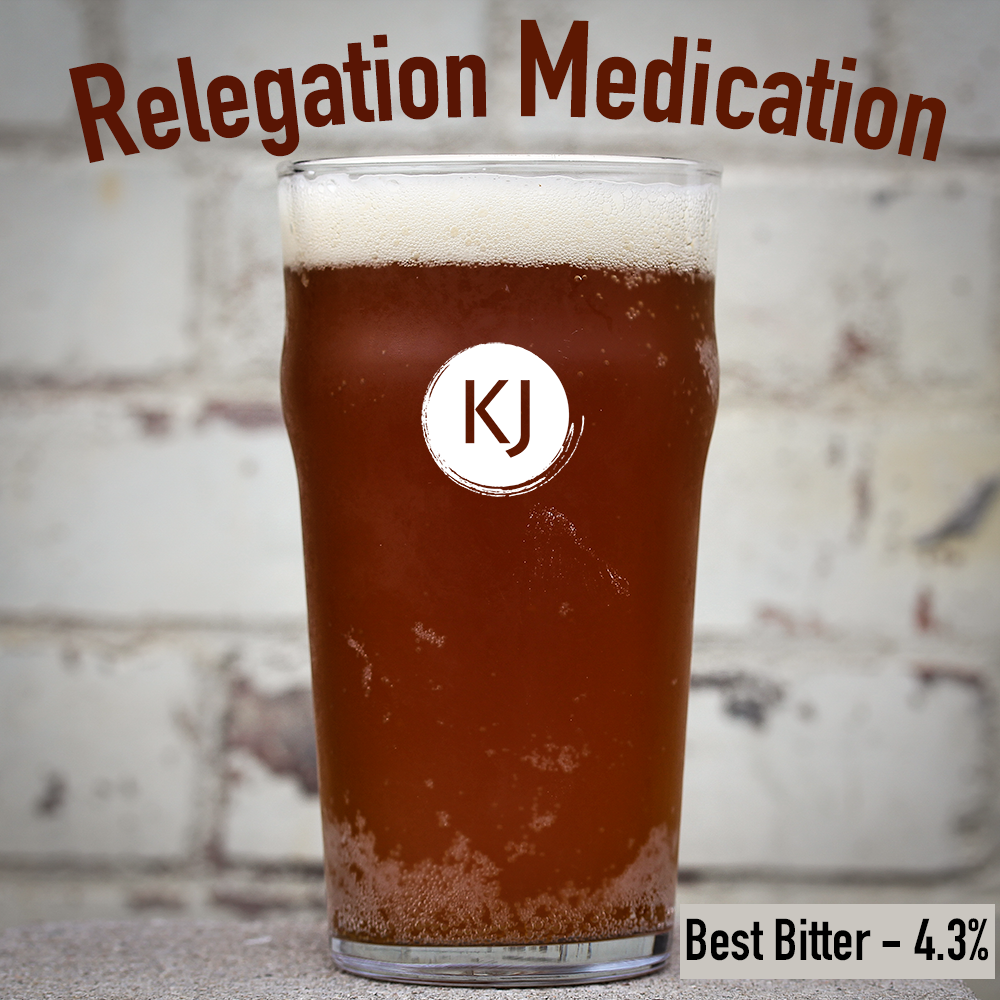 Relegation Medication - Best Bitter Recipe