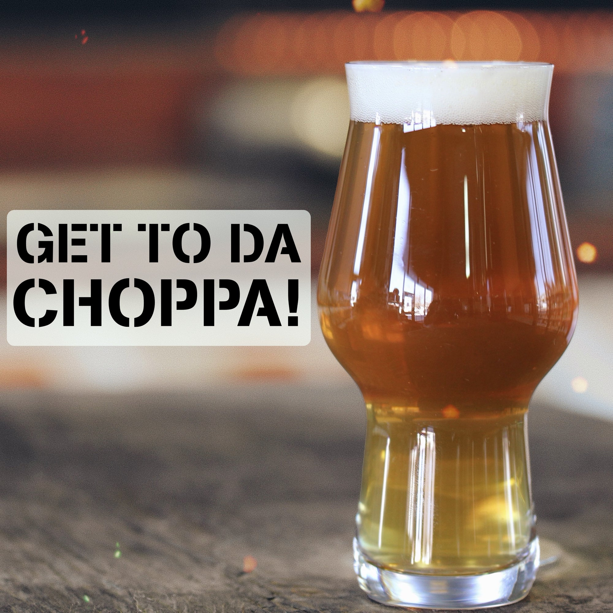 Get to da Choppa! - Pale Ale Recipe