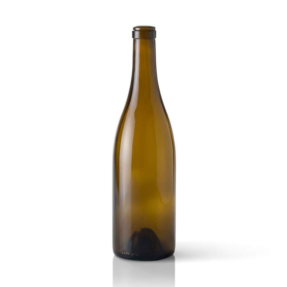 750ml Burgundy Wine Bottles