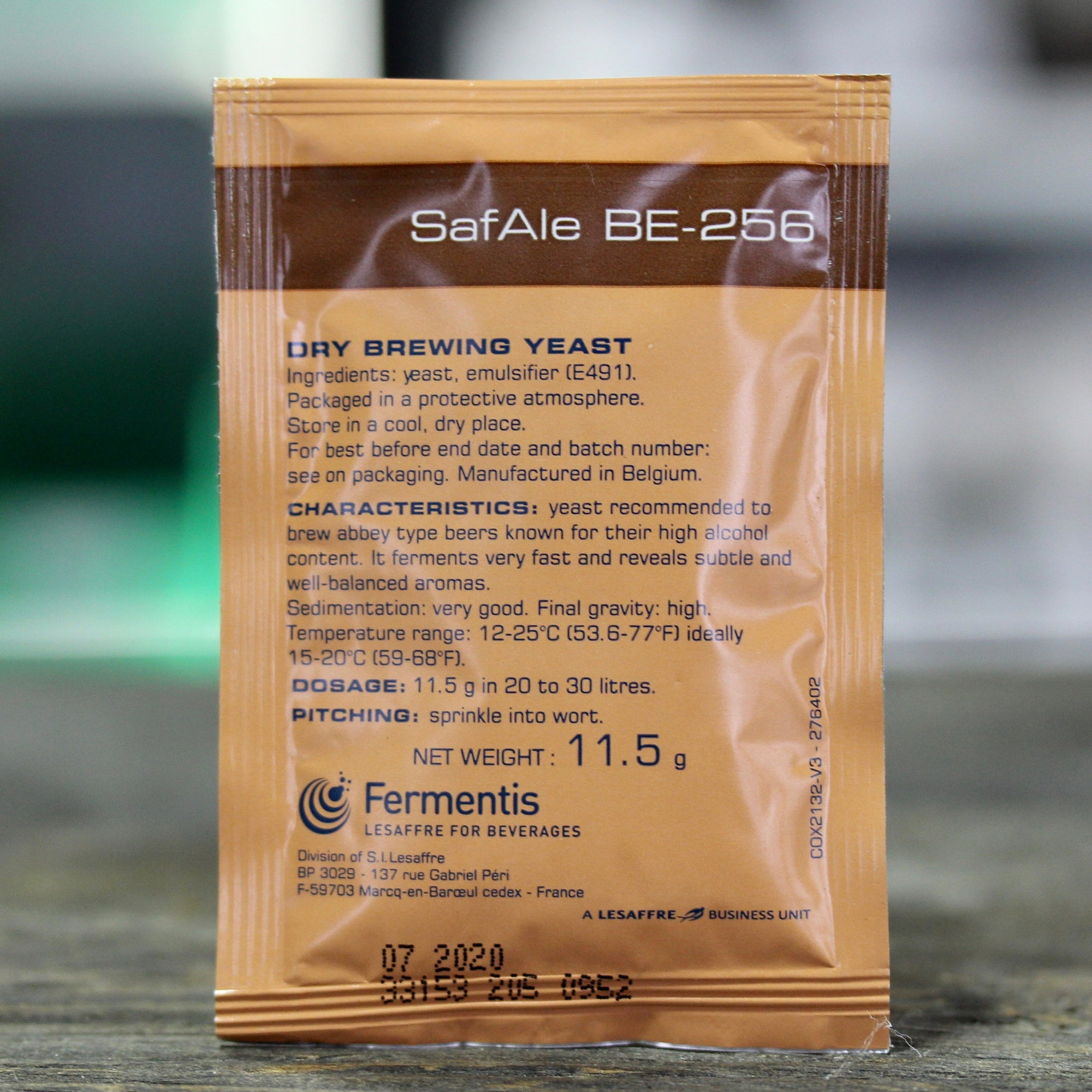 BE-256 Ale Yeast