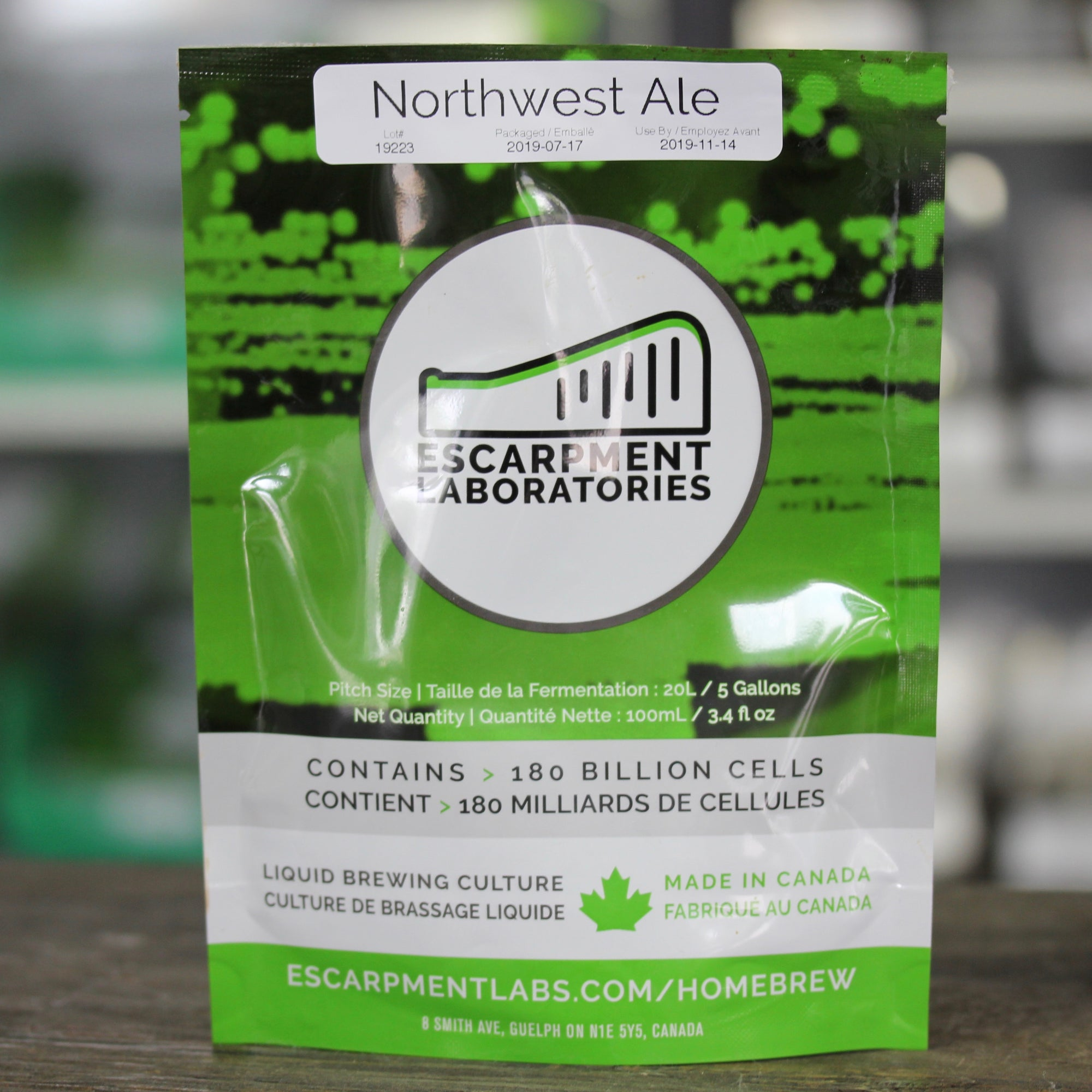 Northwest Ale - Escarpment Labs
