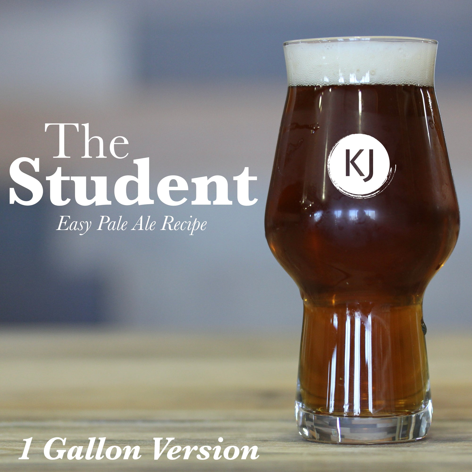 The Student - 1 Gallon Recipe