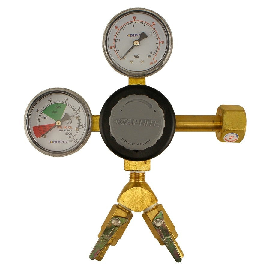 Taprite Dual Gauge Regulator (2 Kegs)