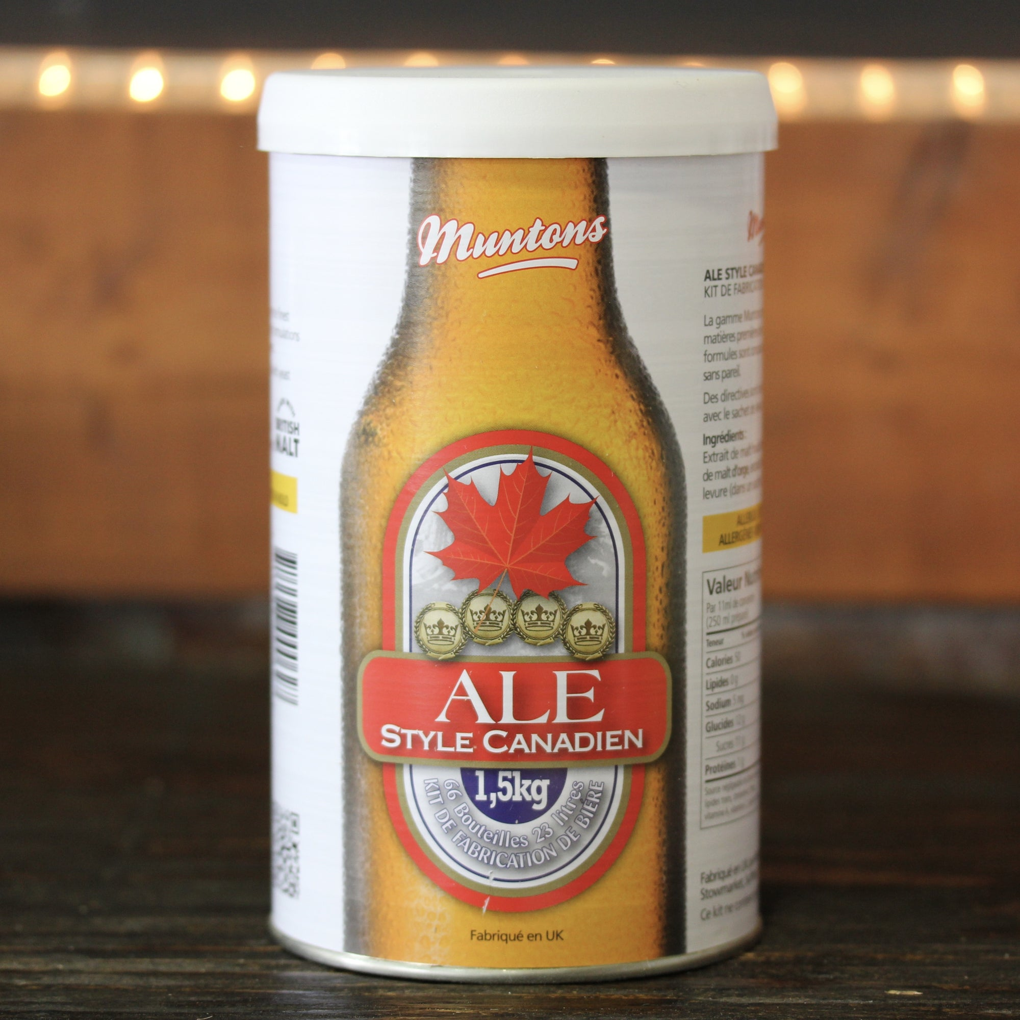 Muntons Beer Kit - Canadian Ale