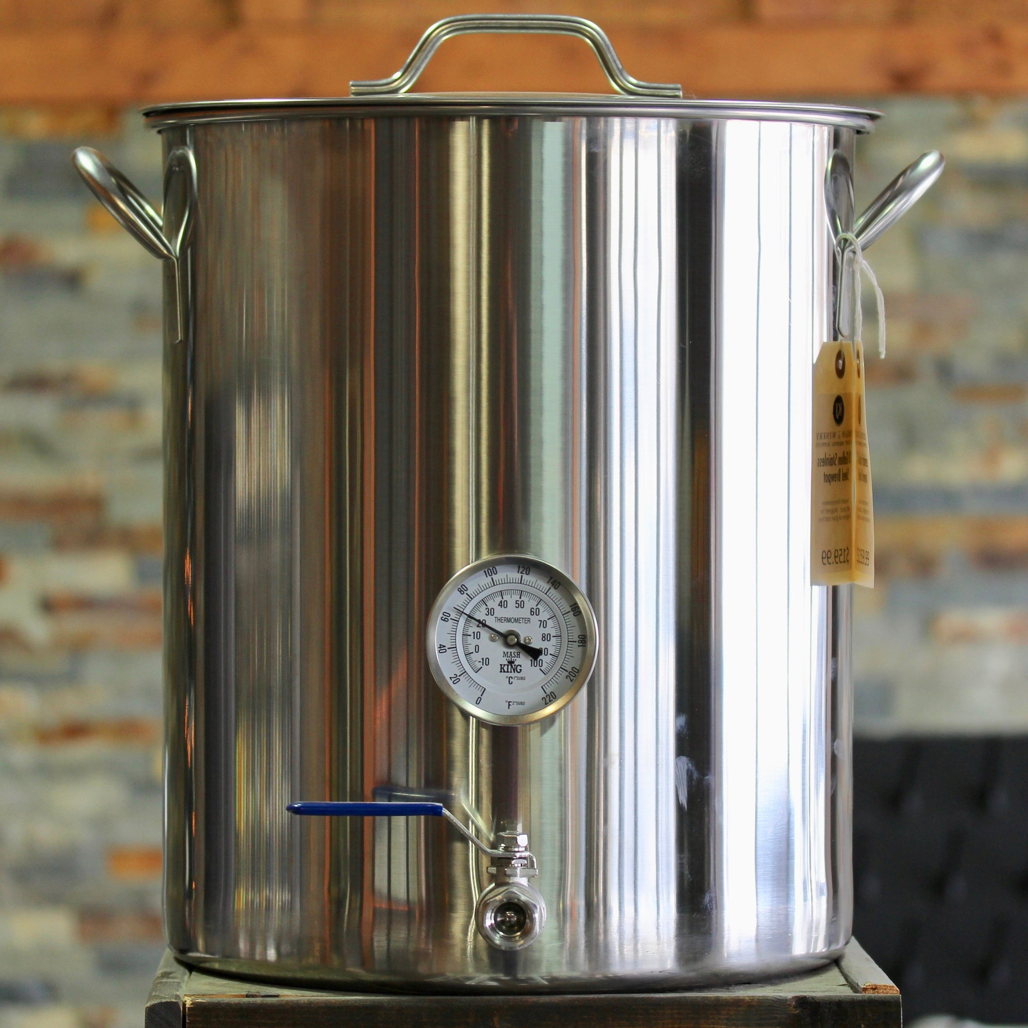 10 Gallon Stainless Steel Advanced Brew Kettle