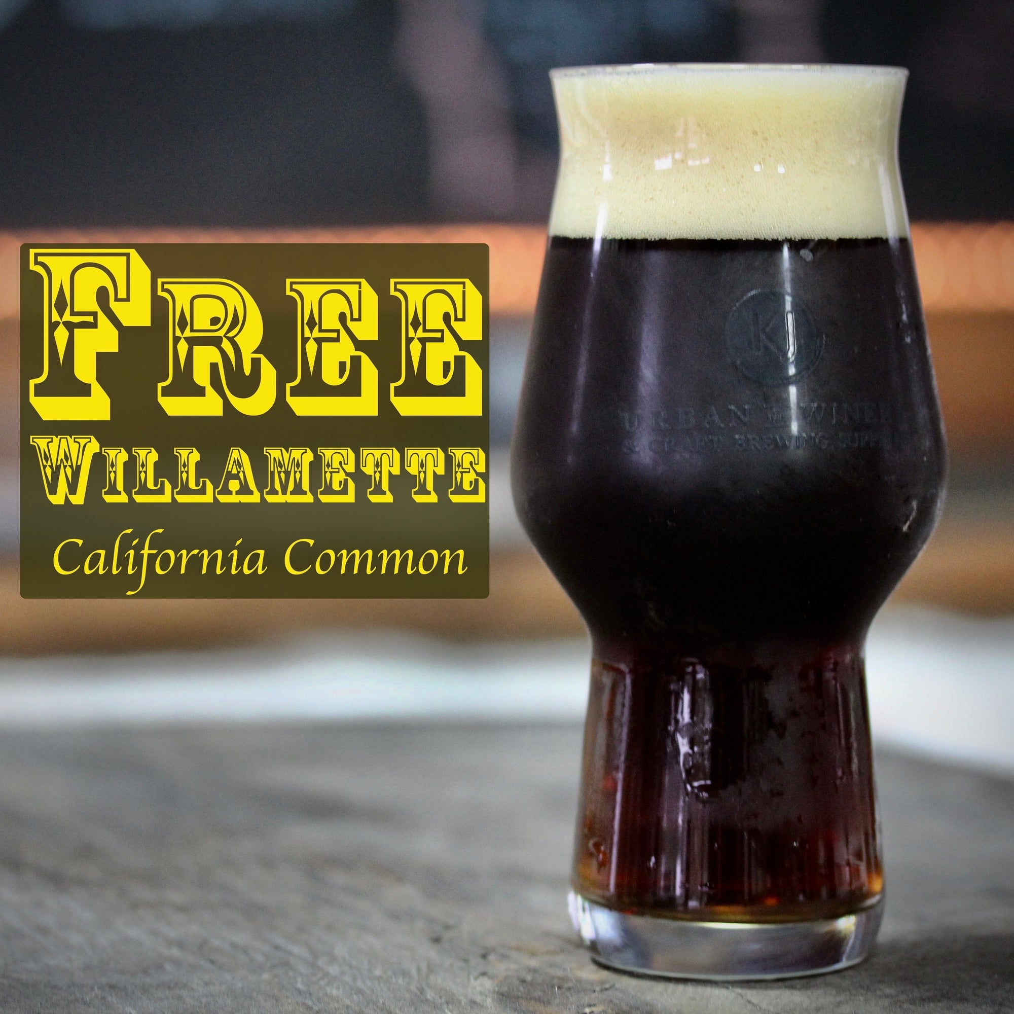 Free Willamette - California Common Recipe