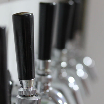 Tap Handle - Black Plastic