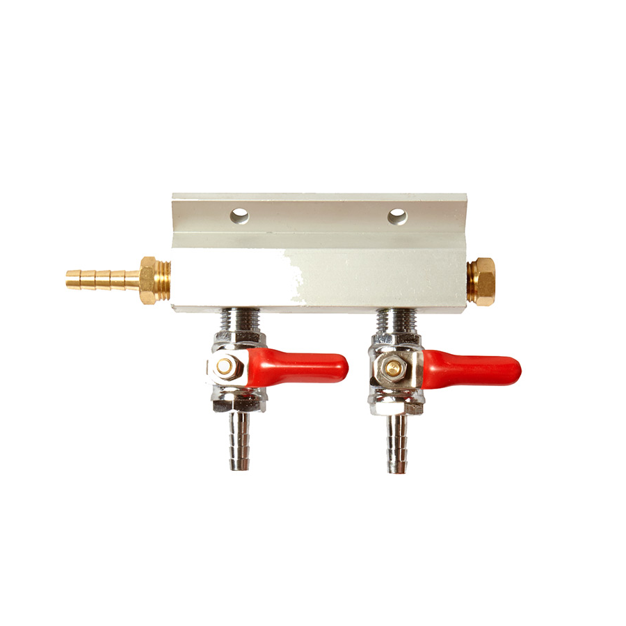 Manifold - 2 Way (CO2 Distributor)
