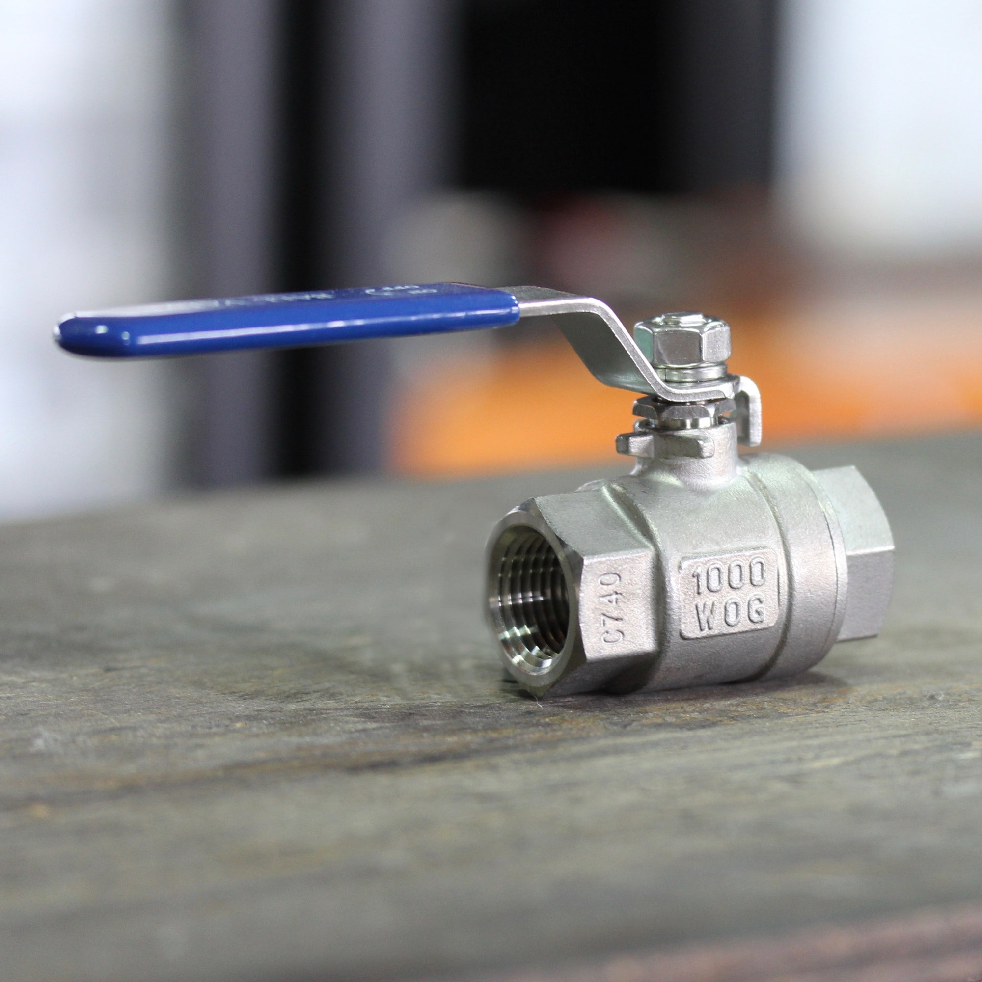 "2 Piece Ball Valve - 1/2"" Female NPT"