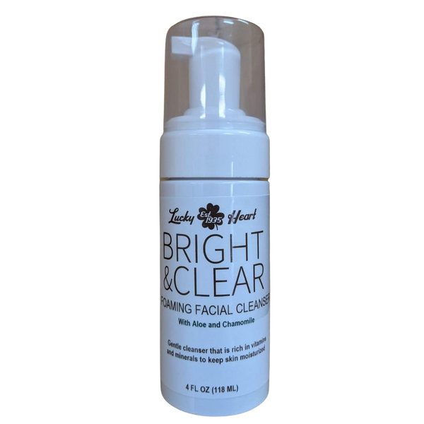 Bright & Clear Foaming Facial Cleanser