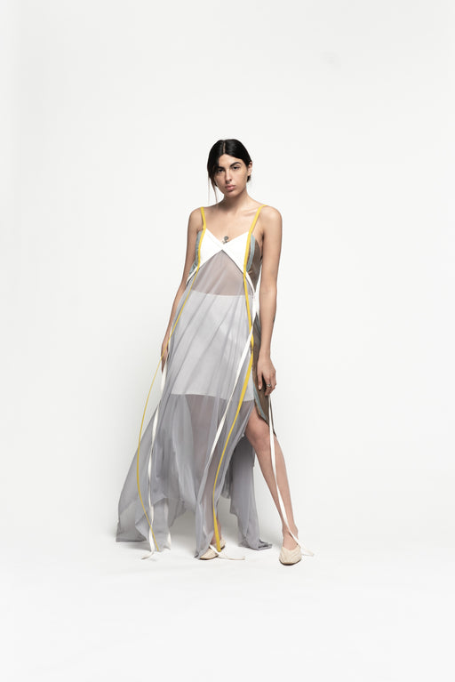 Strap Dress by Amir Al Kasm