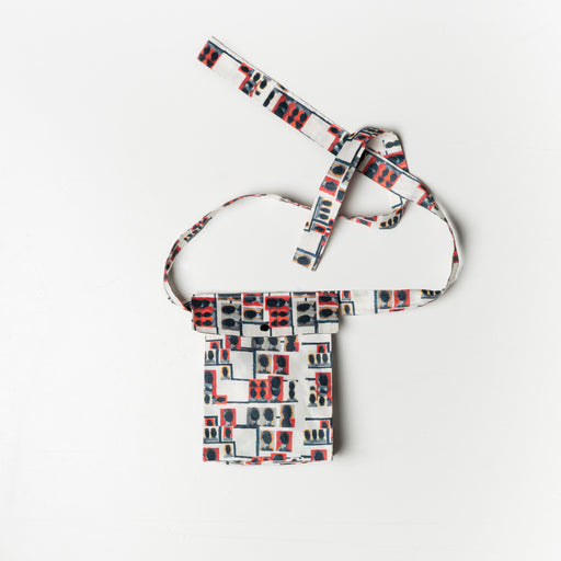 Digital Print Pocket Belt by Ahmad Abdullatif