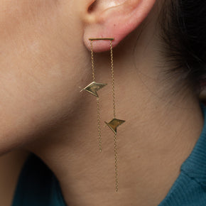 Monster Fish Earrings